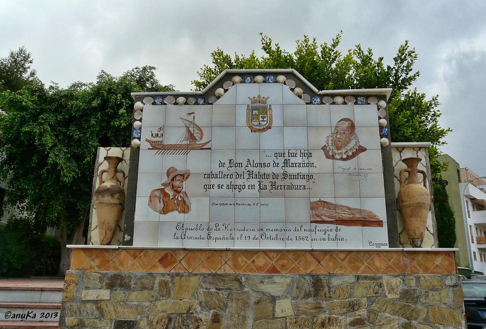 Inscripción Naufragio de La Herradura