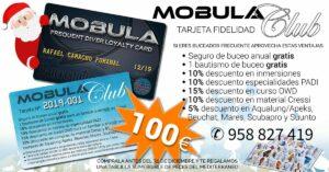 Tarjeta MOBULA Club