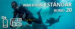 Inmersión ESTÁNDAR - Bono 20